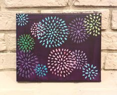 ** the following paintings can be purchased at http://www.etsy.com/shop/RhiCreates    I've been busy tonight working on a few paintings a...
