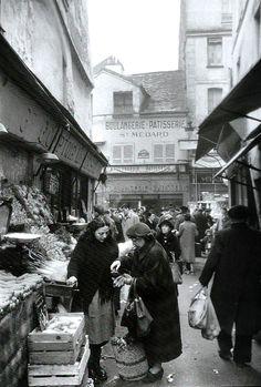 Paris Market 1955, Willy Ronis