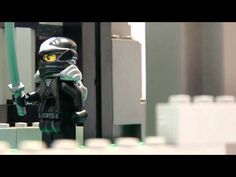 Lego Stopmotion Movie / Film Deutsch: Ninja Fight (HD Brickfilm)