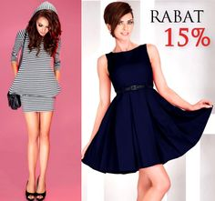 15% zniżki na sukienki i odzież damską. Ważne do 30.09.2015