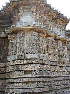 Halebidu, Karnataka, India.