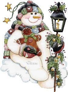 gingerbread man photo: SnowmanGingerbreadLantern SnowmanGingerbreadLantern.gif