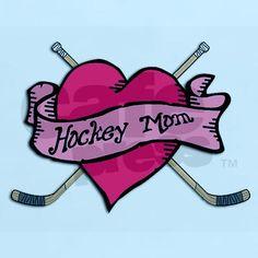 once a hockey mom...always a hockey mom  and yet to be a hockey gramma...