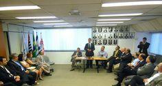 Reda Mansour, novo embaixador de Israel no Brasil reúne-se com lideranças da comunidade judaica na Fisesp.