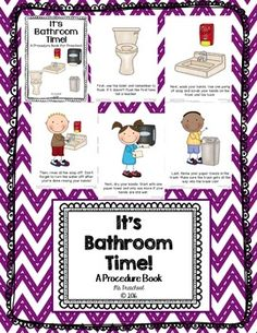 Procedures for the bathroom ms smarty pants tpt school - Bathroom procedures for preschool ...
