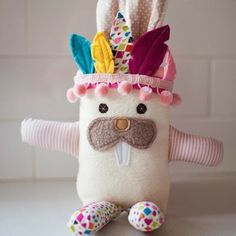 fell in love with miss tribal bunny...