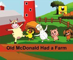 Old MacDonald Had A Farm - English Nursery Rhymes