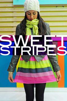 Sweet stripes @ellelauri clothing