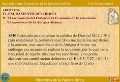 MISIONEROS DE LA PALABRA DIVINA: CATEQUESIS SOBRE LOS SACRAMENTOS - EL SACRAMENTO D...