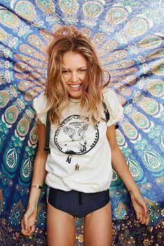 Neil Young Crazy Horse Tee - Urban Outfitters
