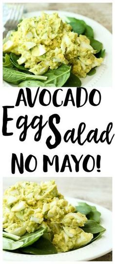 Paleo - Avocado Egg Salad Recipe no mayo lunch recipe gluten-free recipe Paleo recipe recipe low carb recipe - It's The Best Selling Book For Getting Started With Paleo Avocado Dessert, Avocado Egg Salad, Avocado Toast, Paleo Egg Salad, No Mayo Egg Salad Recipe, Avocado Mayo Recipe, Vegetarian Salad, Keto Avocado, Eggs With Avacado