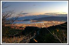 View from Makrinitsa. Pelio's balcony.