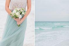 Beach Wedding Ceremony Inspiration | Emerald Coast Destination Wedding Photographer | The Jacksons Photography