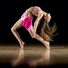 Maddie inspires me because of the way she flows with the music and just feels dance In her heart