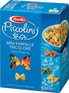Piccolini Mini Farfalle Tricolore (France)