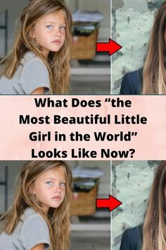 """What Does """"the Most #Beautiful Little #Girl in the World"""" #Looks Like Now? Bridal Nail Art, Bridal Makeup, Beautiful Little Girls, Most Beautiful, Romantic Wedding Receptions, Funny Tumblr Stories, Funny Profile Pictures, Tattoo Fails, Night Dress For Women"""