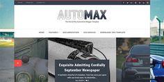 Automax Blogger Template