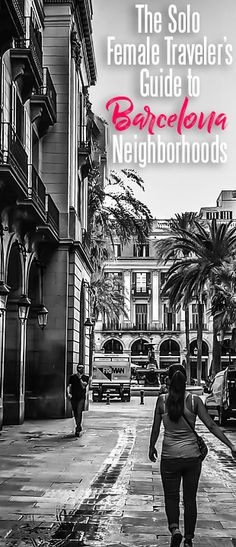 My Favorite Barcelona Neighborhoods for Solo Female Travelers Travel tips 2019 A Guide to Barcelona's best neighborhoods for female travelers, including Barceloneta, Barri Gotic, Eixample, El Born and El Raval. Europe Destinations, Europe Travel Tips, European Travel, Travel Guides, Travel Hacks, Travel News, Holiday Destinations, El Born Barcelona, Barcelona Hotel