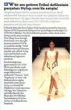 Lug Von Siga 2014 İlkbahar/Yaz Koleksiyonu sadece STYLUP.COM'da satışa çkıyor.