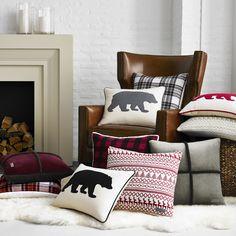 Features:  -Signature Alpine design in super soft acrylic knit.  -Pillow…