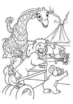 Cute Goat coloring page petting