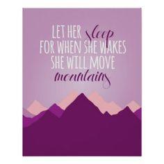 Let #Her #Sleep #Print http://www.zazzle.com/let_her_sleep_print-228117061149215900?rf=238194283948490074&tc=pin