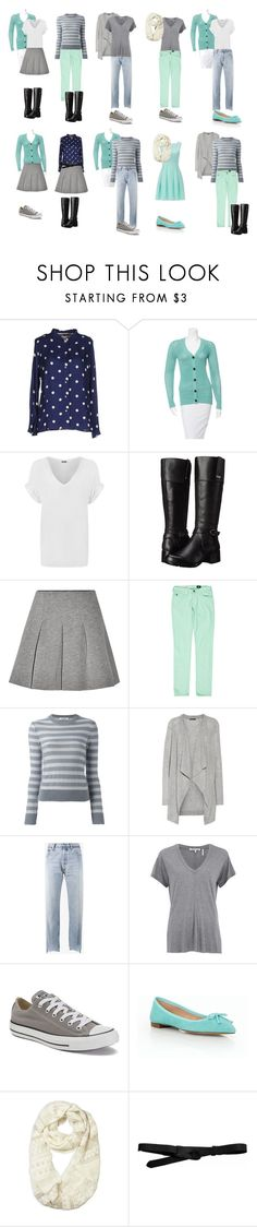 """""""Mint green & grey - pt 3"""" by ceciracine ❤ liked on Polyvore featuring ..,MERCI, Derek Lam, WearAll, Bandolino, T By Alexander Wang, AG Adriano Goldschmied, Valentino, Vince, Vetements and Helmut Lang"""