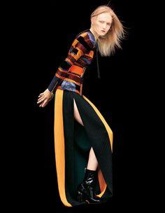Maja Salamon by Dusan Reljin for Harper???s Bazaar Japan October 2015