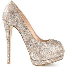Giuseppe Zanotti Design Sparkling Platform Pumps Fall 2014 #Shoes #Heels