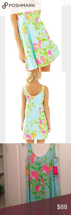 Lilly Pulitzer Carmel Dress Brand New Lilly Pulitzer Carmel Dress in Pink Lemonade. Really pretty pattern & flowy dress. Open to offers and trades for other Lilly. Lilly Pulitzer Dresses