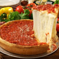 do lunch on Saturday @ Chicago Giordanos pizza!!   (or peqouds, need a cab for this one, not downtown)