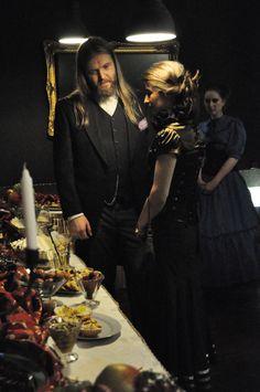 emperor Leopold III Hartz-Gotta and empress Katarzyna Hartz-Gotta LARP: First Fly of Titania Photo: Malwina Żuchowska https://www.facebook.com/GrupaProKreacja/
