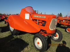 Rare Allis Chalmers D15 orchard tractor