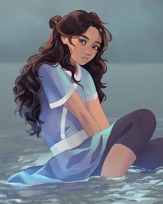 Katara Discover Thats Rough Buddy. Thats Rough Buddy. Our favorite waterbender from the Southern. Avatar Aang, Avatar Airbender, Team Avatar, Haikyuu, Avatar Series, Avatar Book, Avatar Fan Art, The Last Avatar, Water Tribe