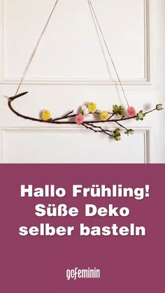 Healthy Diet Tips, Diy Garland, Spring Crafts, Easter Crafts, Deco, Gardening, Wreaths, Holidays, Places
