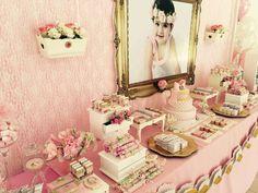 Shabby Chic Vintage Birthday Party Ideas   Photo 16 of 23