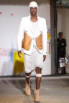Boris Bidjan Saberi, Menswear, Spring Summer, 2015, Fashion Show in Paris http://blog.cruvoir.com/boris-bidjan-saberi-spring-summer-2015-runway/