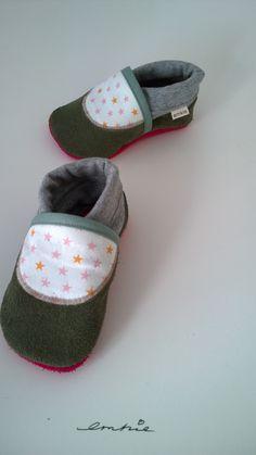 Weiteres - Bio Krabbelschuhe Lauflernschuhe Krabbelpuschen - ein Designerstück von emkie bei DaWanda