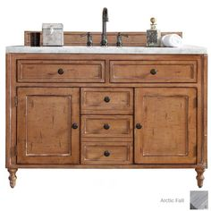 James Martin Furniture James Madison Furniture Copper Cove Single Vanity in Driftwood without Countertop Bathroom Vanity Base, Marble Vanity Tops, Vanity Cabinet, 48 Vanity, Bathroom Cabinets, Double Vanity, Shiplap Bathroom, Wood Vanity, Bathroom Mirrors