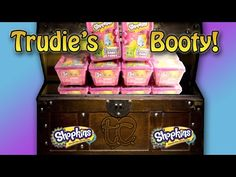 10 Season 2 Shopkins Blind Baskets! Trudie's Booty! - YouTube