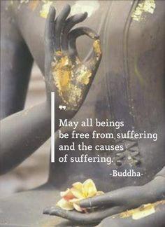"""""""Todos los seres sintientes pueden estar libre del sufrimiento y de las causas del sufrimiento"""""""