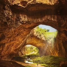 Amazing Caves | Devetashka Cave, Bulgaria, by Silvia S