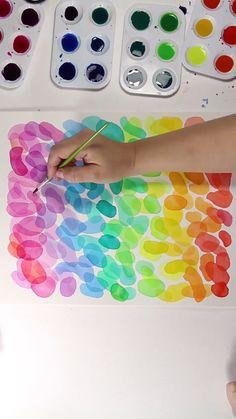 [orginial_title] – Josie Lewis Art Layered Watercolors I love this watercolor set! Diy Artwork, Pics Art, Art Club, Art Design, Painting & Drawing, Gouache Painting, Painting Canvas, Watercolor Paintings, Watercolour