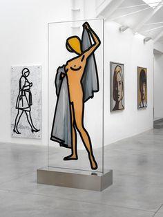 Ryan Gander and Julian Opie exhibition