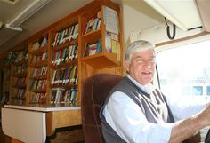 The Bookmobile would come to the Eagles parking lot every Friday in the summer and I would leave with 2-3 books every week.