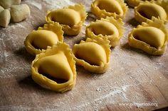 Sbianchitura della pasta fresca ripiena
