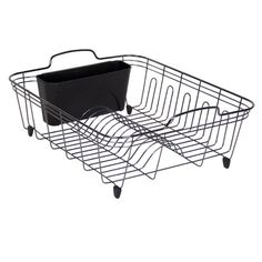 Target Dish Drying Rack Vintage French Dish Drainer Black Metal Sink Drying Rack Attached