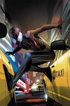 After Norman Osborn was arrested by S.H.I.E.L.D, and publicly revealed as the Green Goblin, Osborn Industries was left abandoned. Nearly two months before Peter Parker's death, a thief broke into Osborn Industries. Unknown to the thief a spider genetically enhanced with the Oz formula crawled into his bag. Miles Morales, a young kid from Brooklyn visited his uncle Aaron Davis against his parents' wishes, because of his criminal past, after being awarded the final spot in a charter school...