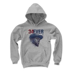 David Ortiz Forever B Boston MLBPA Officially Licensed Youth Hoodie S-XL