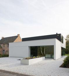 architectenburo bart coenen te antwerpen // architect van moderne woningen: